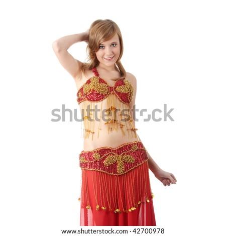 8cd7dff04 Teen Girl Belly Dancer Costume Dancing Stock Photo (Edit Now ...