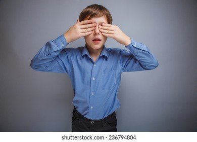 Teen wearing a shirt covered her face and eyes
