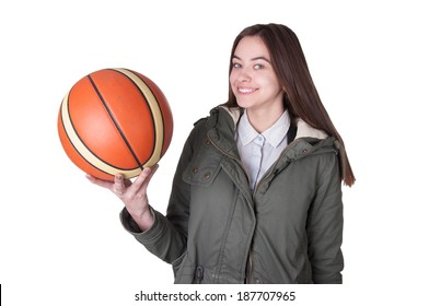 Teenage Basketball Player