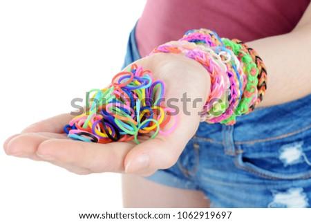 Teen girl hand in pants photo 843