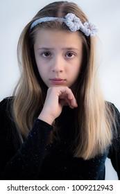 Teenage Girl Posing