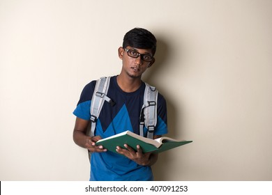 teenage indian male college student