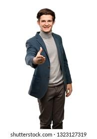 Man Teenager Shaking Hands Images, Stock Photos & Vectors | Shutterstock