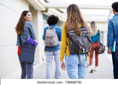 Teenagers friends friendship students concept