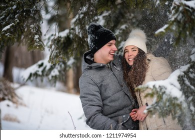 Teens in love spending quality time together