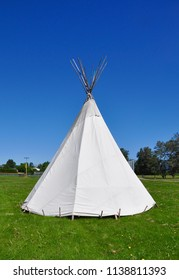 Teepee in a sunny day