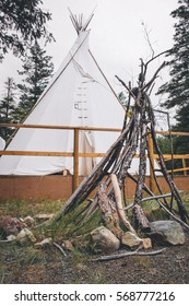 Teepee Tent in Ashcroft B.C., Canada 2015