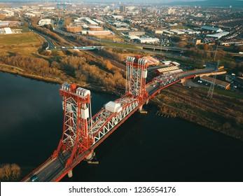Teesside middlesbrough historic Newport Bridge