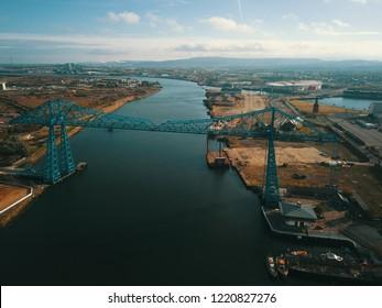 Teesside Middlesbrough transporter Bridge
