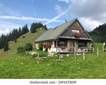 Tegernsee, Bayern/Deutschland, 08/20/2019 - Tegernseer Hütte