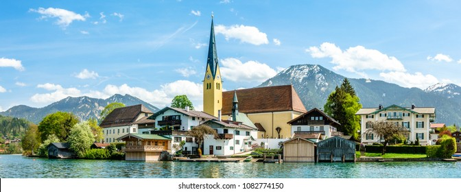 tegernsee lake in bavaria - germany - photo
