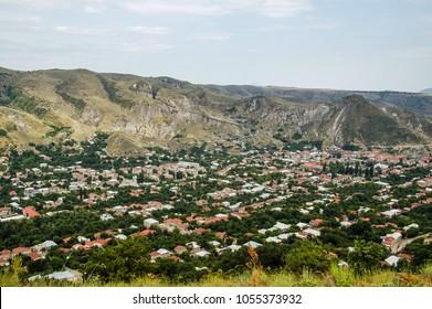 Tegh village in mountainous region, Syunik Province, Armenia