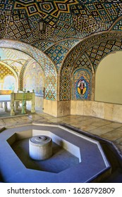 Tehran, Iran - Nov 3, 2018: The Golestan Palace is one of the oldest historic monument in the city of Tehran. It is a former royal Qajar complex and is recognised as Unesco World heritage site.
