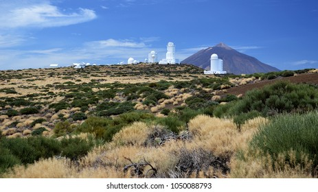Teide astronomical observatory in Tenerife