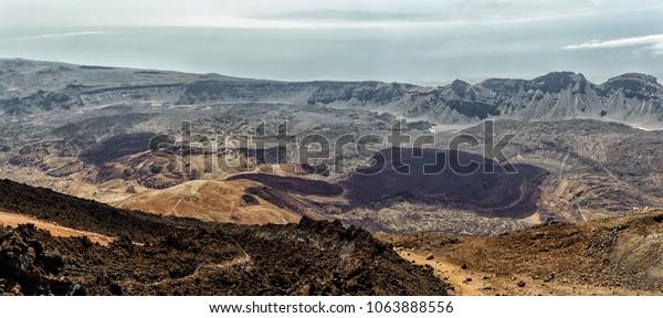 Teide national park panorama