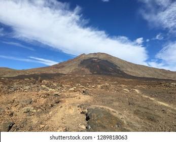 Teide voclano National Park in Tenerife island.