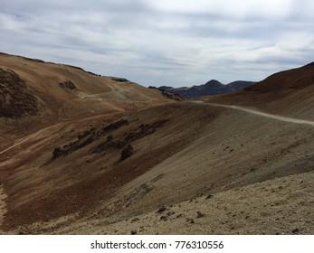 Teide volcano dunes