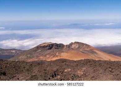 Teide volcano landscape. Island of Tenerife. Spain.