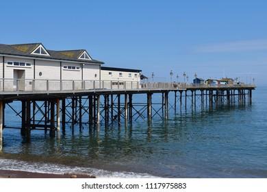 Teignmouth pier, Devon, England