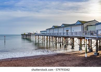 Teignmouth Pier, South Devon, England