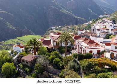 Tejeda, beautiful village in the mountains of Gran Canaria