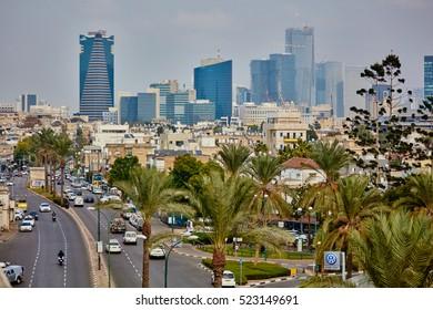 Tel Aviv - 25 October, 2016: Tel Aviv city view