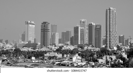 TEL AVIV ISRAEL 04 11 2016:Tel Aviv-Yafo is a city in Israel. It is known to be the financial center and the technology hub of Israel. Tel Aviv is the largest city in the Gush Dan region of Israel