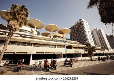 TEL AVIV, ISRAEL - MARCH 24, 2014: Panorama Hotel in Tel Aviv on March 24, 2014, Israel