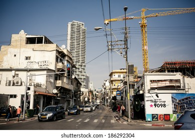 TEL AVIV, ISRAEL - MARCH 24, 2014: Old Jaffa District on March 24, 2014 in Tel Aviv, Israel