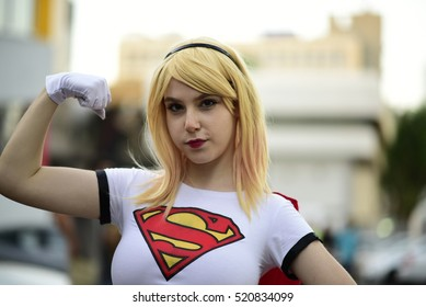 TEL AVIV, ISRAEL - November 18 2016: Cosplayers attend Icon festival in Tel Aviv, Israel