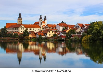 Telc, a town in Moravia in the Czech Republic
