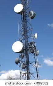 Telecommunication & cell towers technology.