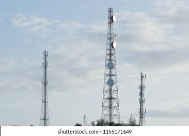 Telecommunication tower of Radio station