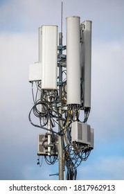 Telecommunication tower for wireless communication and the Internet.