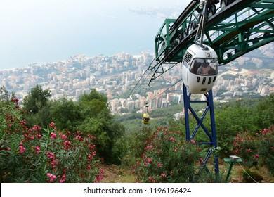 Teleferique of Lebanon In harissa