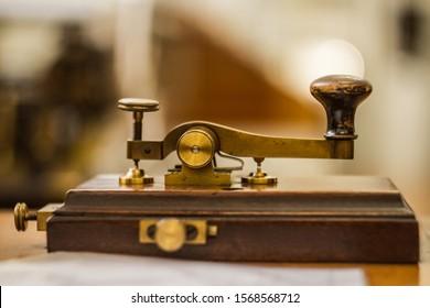 Telegram, Morse code, in the museum