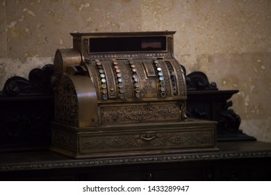 Telegraph machine Antique that is well preserved