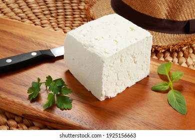 Telemea is the name of Romanian cheese traditionally made of sheep's milk. Nowadays the term encompasses cheese made out of cows or goats milk. Similar in taste and texture to white Colombian Cheese