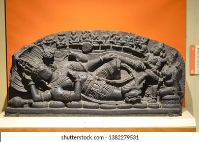 Telengana, Hyderabad, India - December 10, 2016 : Salar Jung Museum,