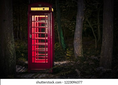 Telephone box forest