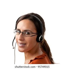 Telephone Call Center Operator Agent