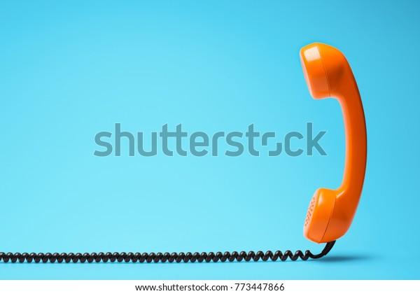 Telefonkommunikationskonzept.