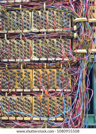 Marvelous Telephone Exhange Box Circuit Board Telephone Stock Photo Edit Now Wiring Digital Resources Attrlexorcompassionincorg