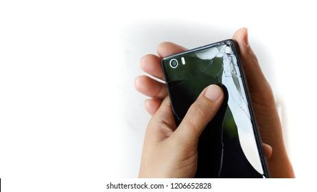 Telephone falling apart