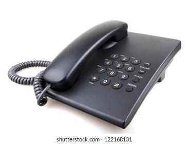 telephone isolated on white