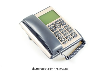 telephone isolated on a white background