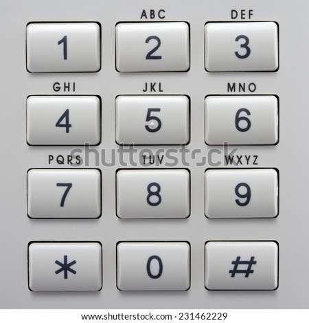 telephone keypad buttons numbers letters top stock photo (edit now