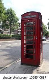 telephone kiosk in london