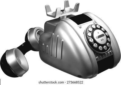 Telephone, Old, Emergency Telephone.
