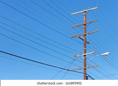 Wood Utility Poles Images, Stock Photos & Vectors | Shutterstock